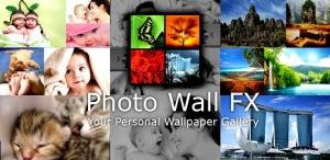 A multi picture wallpaper gallery