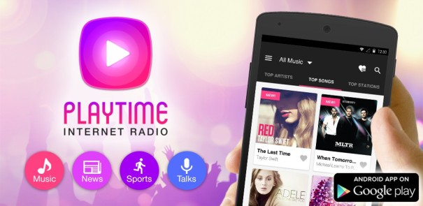 Get PlayTime Internet Radio from Google Play Now